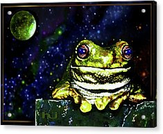 Ruler Of The Cosmos  Acrylic Print