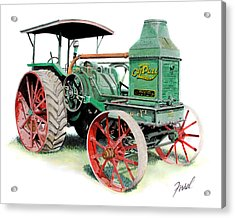 Rumely Oil Pull 2040 Acrylic Print