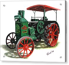 Rumely Oil Pull X Tractor Acrylic Print