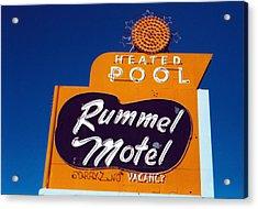 Rummel Motel Acrylic Print
