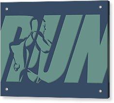 Run 1 Acrylic Print