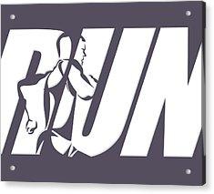Run 4 Acrylic Print