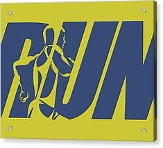 Run 5 Acrylic Print