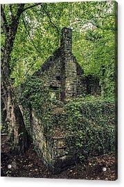 Run Down Mill Acrylic Print