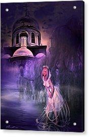 Runaway Bride Acrylic Print by Svetlana Sewell