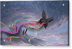 Runaway Kite Acrylic Print