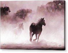 Running Horse Acrylic Print