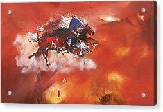 Running Horses Acrylic Print