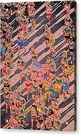 Running On Peachtree  Acrylic Print