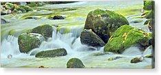 Running Water Acrylic Print