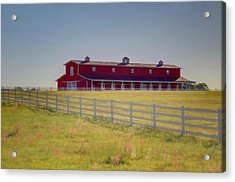 Acrylic Print featuring the photograph Rural Alabama by Donna Kennedy