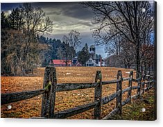 Rural America Acrylic Print by Everet Regal