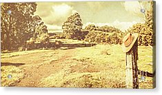 Rural Australia Panorama Acrylic Print