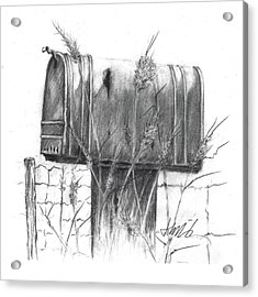 Rural Country Mailbox Acrylic Print