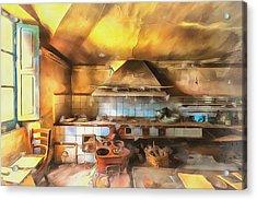 Rural Culinary Atmosphere Nr 2 - Atmosfera Culinaria Rurale IIi Paint Acrylic Print