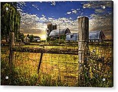 Rural Farms Acrylic Print