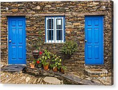 Rural House Detail Acrylic Print