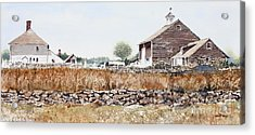 Rural Maine Acrylic Print by Monte Toon