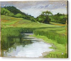 Rural Marsh Acrylic Print