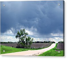 Acrylic Print featuring the photograph Rural Nebraska by Tyler Robbins