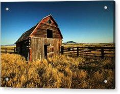 Rural Noir Acrylic Print by Todd Klassy