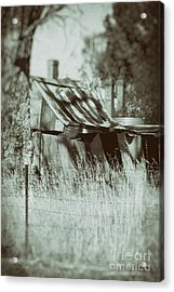Acrylic Print featuring the photograph Rural Reminiscence by Linda Lees