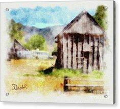 Rural Remnants Acrylic Print