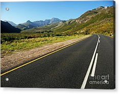 Rural Road Acrylic Print by Sami Sarkis