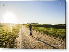 Rural Road Traveller Acrylic Print by Jorgo Photography - Wall Art Gallery