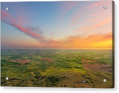 Acrylic Print featuring the photograph Rural Setting by Ryan Manuel