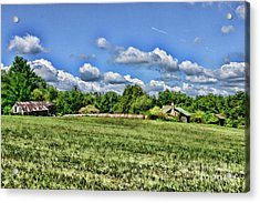 Rural Virginia Acrylic Print by Paul Ward