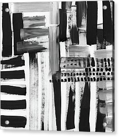 Rush Hour- Art By Linda Woods Acrylic Print
