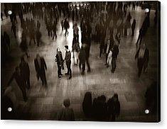 The Conversation Acrylic Print