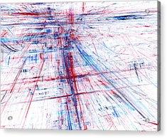 Rush Hour Acrylic Print by Martin Capek