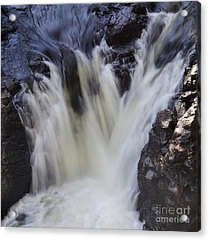 Acrylic Print featuring the photograph Rushing by Aimelle