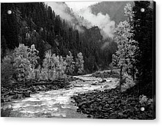 Rushing River Acrylic Print
