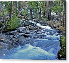 Rushing Riverbend Acrylic Print