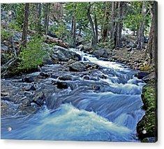Rushing Riverbend Acrylic Print by Matt MacMillan