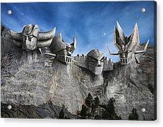 Rushmore Super Robot Acrylic Print