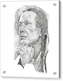 Russell Means Acrylic Print