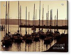Russet Harbour Acrylic Print