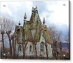 Russian Armenian Haunted House Acrylic Print