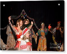 Acrylic Print featuring the photograph Russian Choir Performing by Yurix Sardinelly