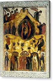 Russian Icon Acrylic Print by Granger