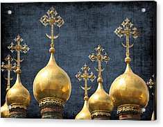 Russian Icons Acrylic Print