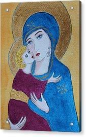 Russian Madonna Acrylic Print