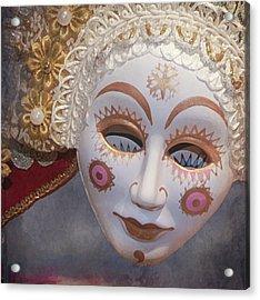 Russian Mask 4 Acrylic Print by Jeff Burgess