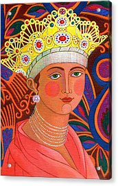 Russian Princess Acrylic Print