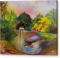 Russian River Dream Acrylic Print