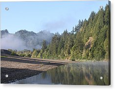 Russian River Morning Glow Acrylic Print